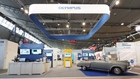 1901OEKG02May - New Digital Microscope Heads Innovative Olympus Inspection Line-up at Control 2019