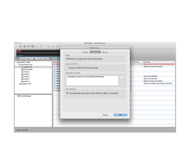 DSS Player for MAC - Transcription Software - Olympus